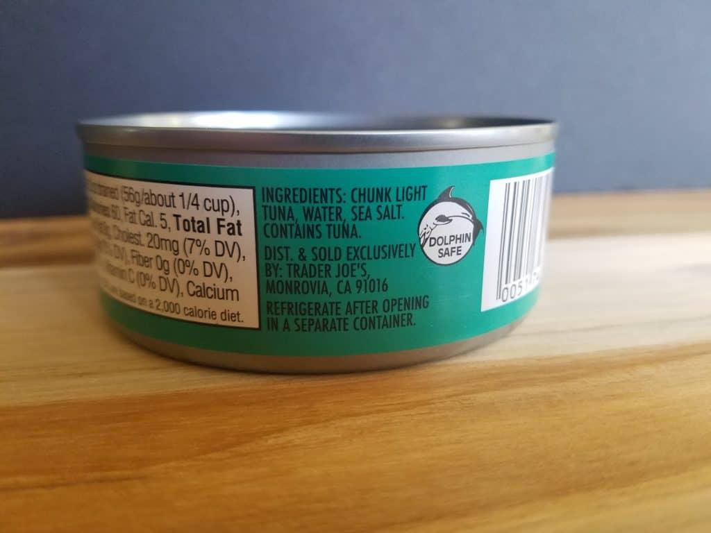 Trader Joe's Skipjack Tuna