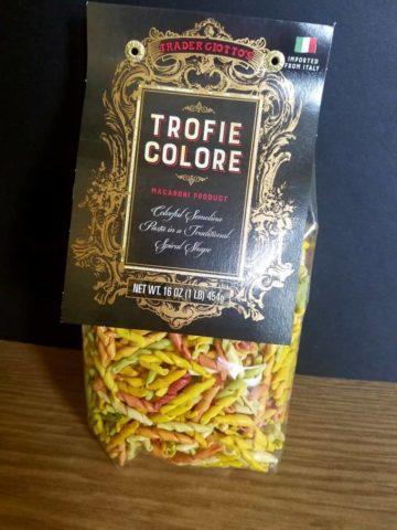 Trader Joe's Trofie Colore bag