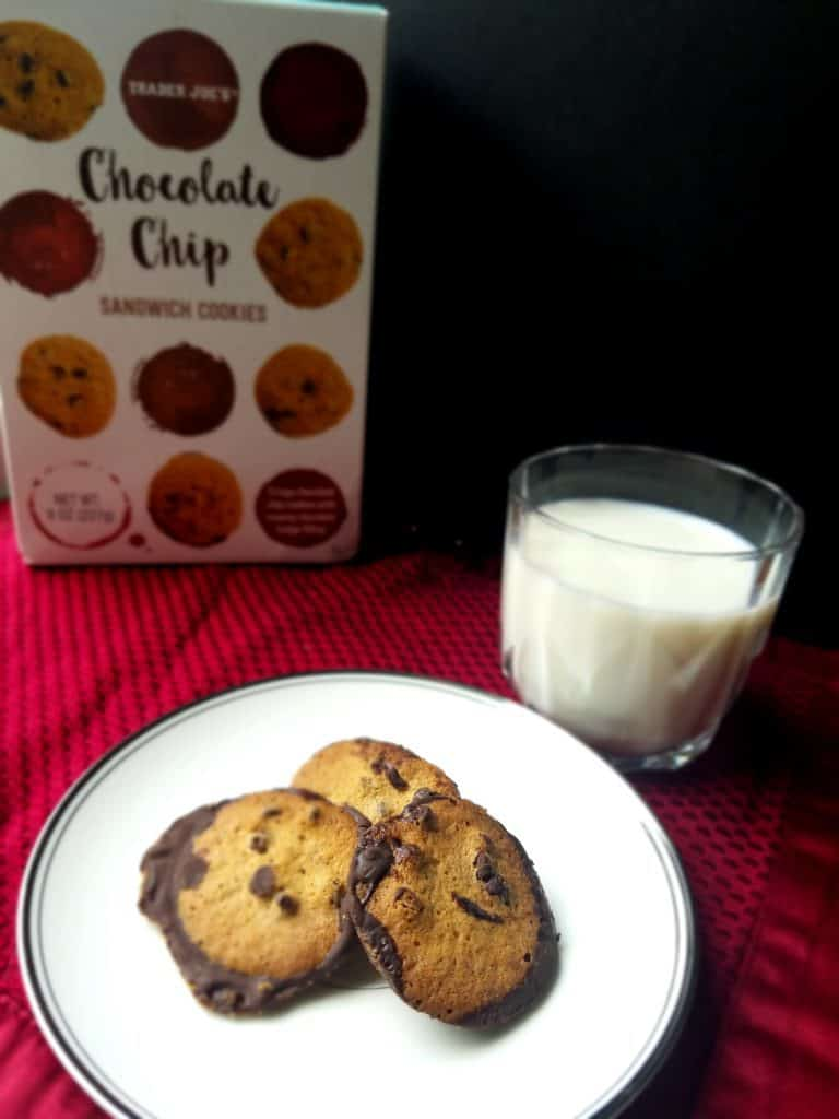 Trader Joe's Chocolate Chip Sandwich Cookies   BecomeBetty.com