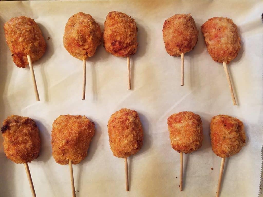 Trader Joe's Chicken Parmesan Lollipops