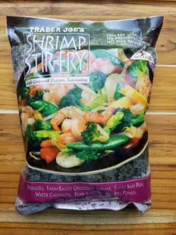 Trader Joe's Shrimp Stir Fry