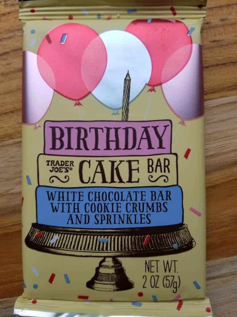 Trader Joes Birthday Cake Candy Bar