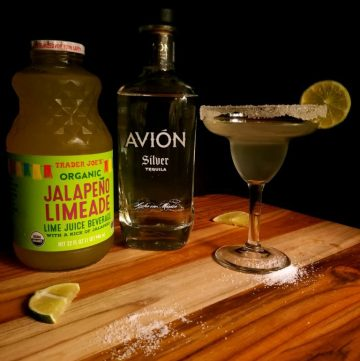Spicy Jalapeno Limeade Margarita