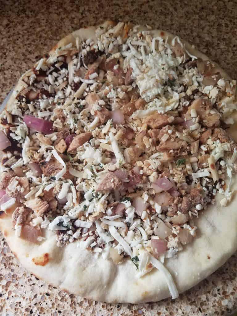 Trader Joe's BBQ Chicken Pizza