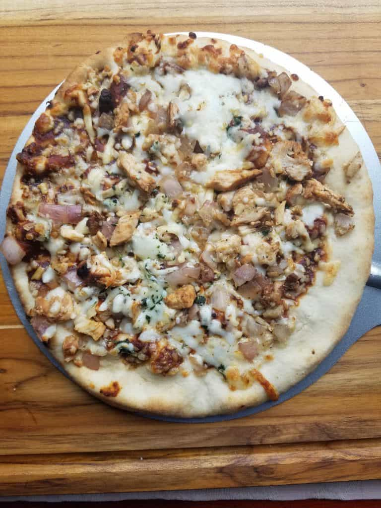 Trader Joe's BBQ Chicken Pizza