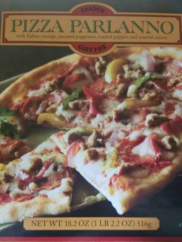 Trader Joe's Pizza Parlanno