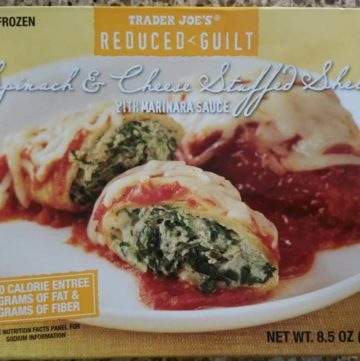 Trader Joe's Reduced Guilt Stuffed Shells