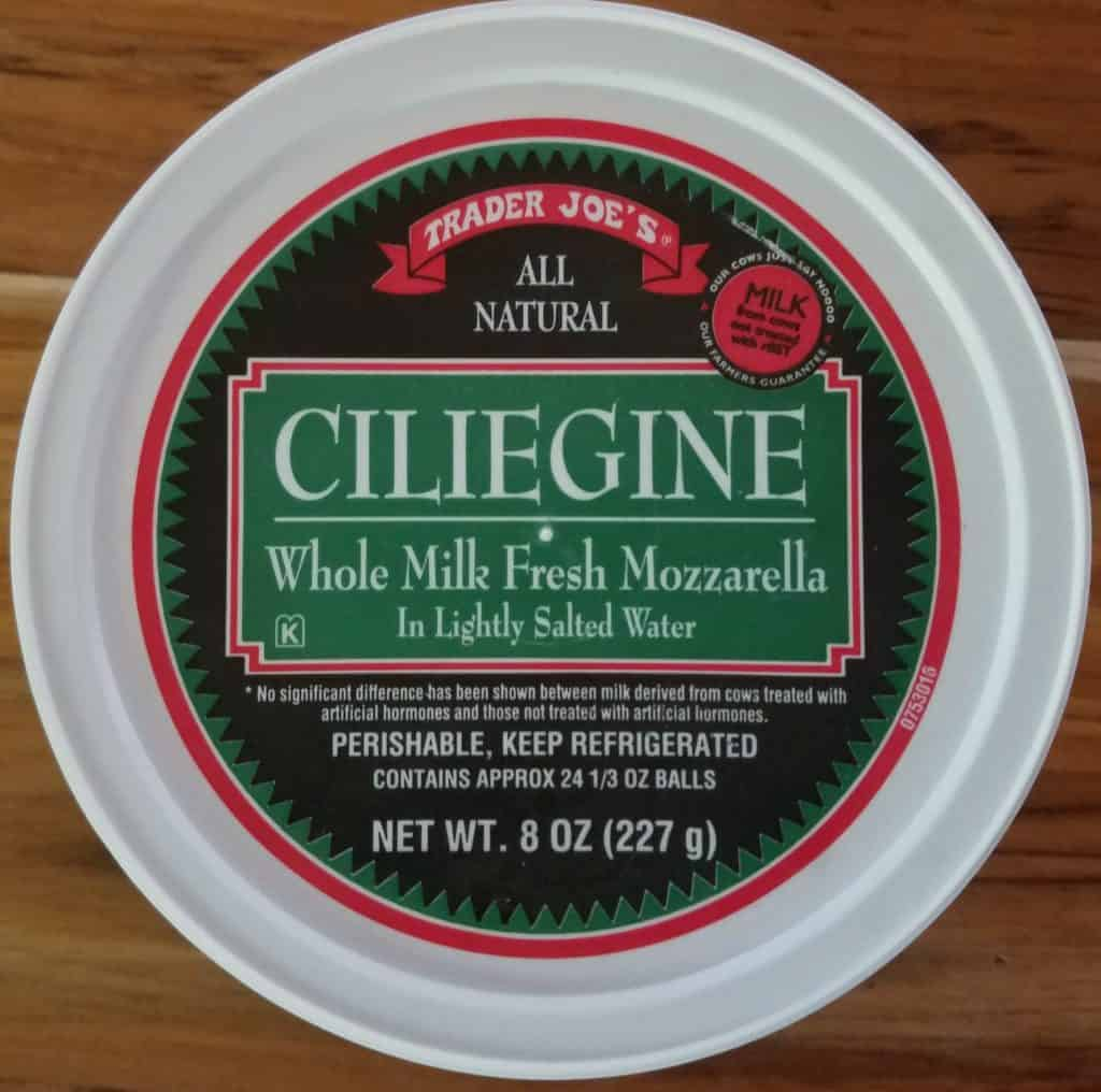 Trader Joe's Ciliegine Fresh Mozzarella