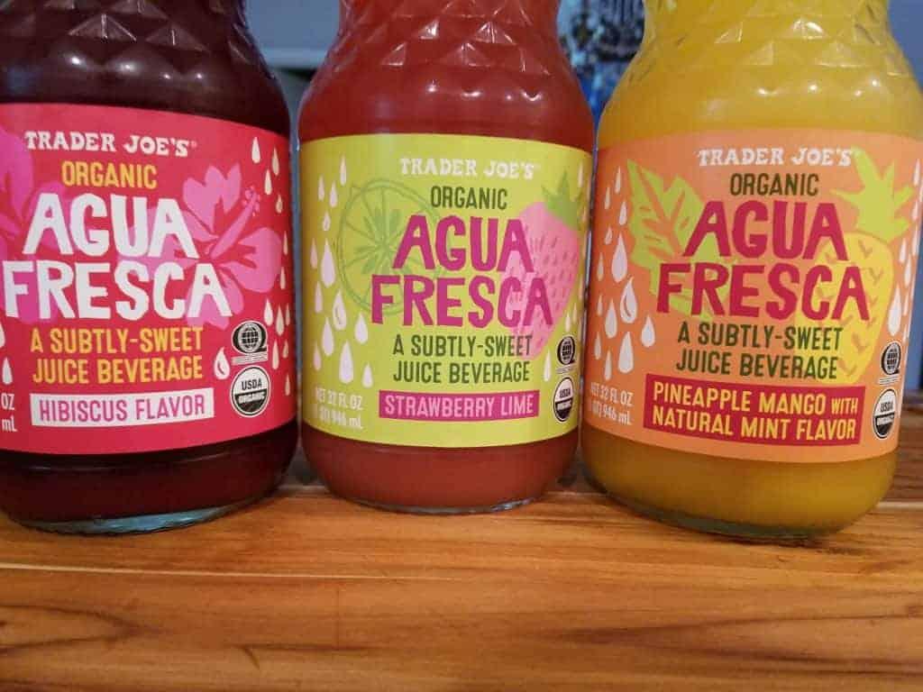Trader Joes Agua Fresca