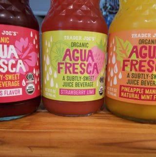 Trader Joe's Agua Fresca