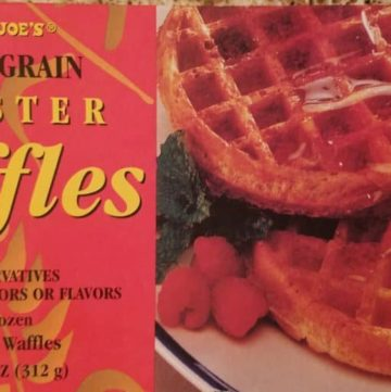 Trader Joe's Multi Grain Waffles