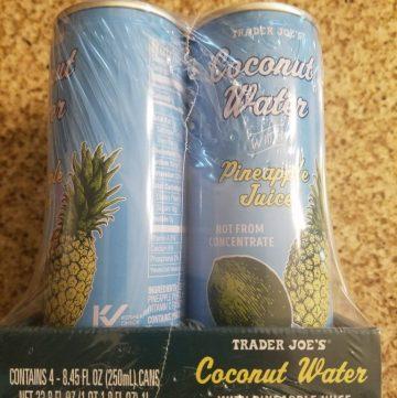 Trader Joe's Coconut Water with Pineapple Juice