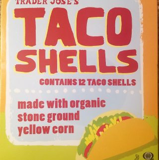 Trader Joe's Taco Shells with Organic Corn