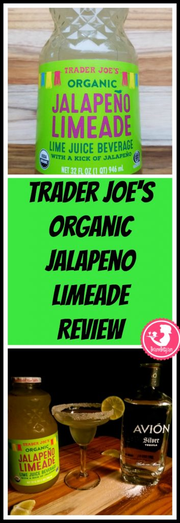 Trader Joe's Organic Jalapeno Limeade Review and recipe for a spicy margarita. Want to know if this is something worth buying from Trader Joe's? All pins link to BecomeBetty.com where you can find reviews, pictures, thoughts, calorie counts, nutritional information, how to prepare, allergy information, price, and how to prepare each product.