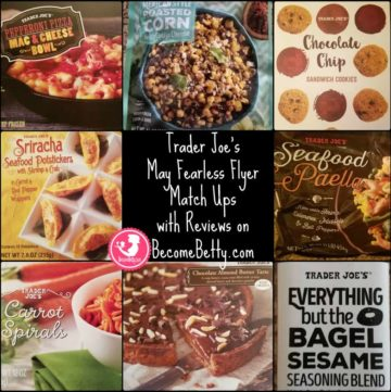 Trader Joe's May 2017 Fearless Flyer Matchups