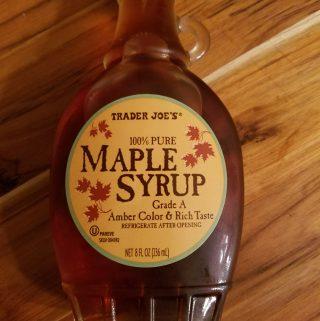 Trader Joe's Grade A Maple Syrup
