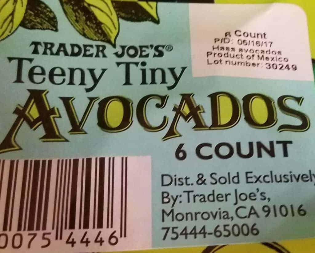 Trader Joe's Teeny Tiny Avocados
