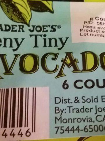 Trader Joe's Teeny Tiny Avocados