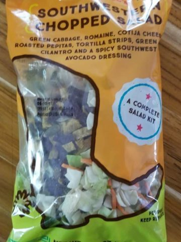 Trader Joe's Southwestern Chopped Salad