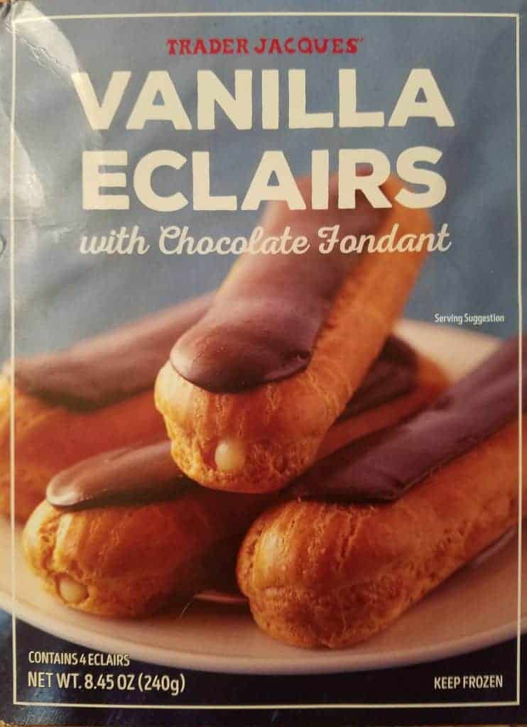 Trader Joe's Vanilla Eclairs