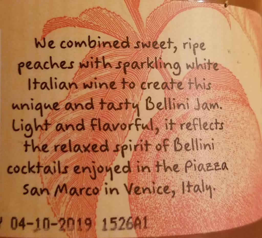 Trader Joe's Peach Bellini Jam