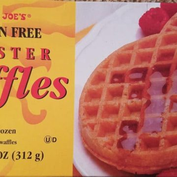 Trader Joe's Gluten Free Waffles