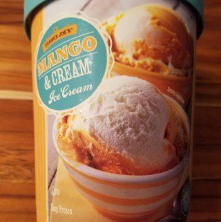 Trader Joe's Mango and Cream Ice Cream