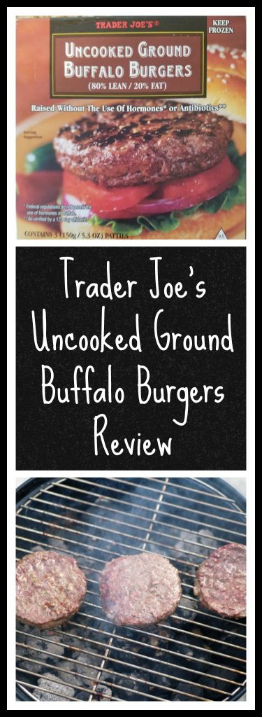 Trader Joes Uncooked Ground Buffalo Burgers Review. Want to know if this is something worth buying from Trader Joe's? All pins link to BecomeBetty.com where you can find reviews, pictures, thoughts, calorie counts, nutritional information, how to prepare, allergy information, and how to prepare each product.