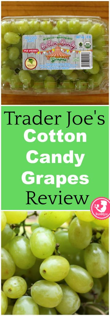 Trader Joe's Cotton Candy Grapes Review. While not branded as Trader Joe's, they can be found there. Want to know if this is something worth buying from Trader Joe's? All pins link to BecomeBetty.com where you can find reviews, pictures, thoughts, calorie counts, nutritional information, how to prepare, allergy information, and how to prepare each product.
