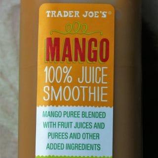 Trader Joe's Mango Smoothie