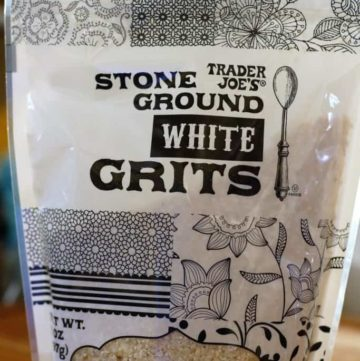 Trader Joe's Stone Ground White Grits