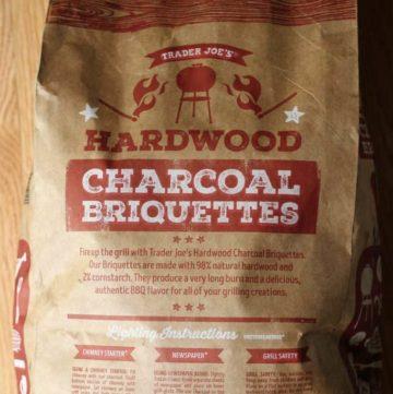 Trader Joe's Hardwood Charcoal Briquettes