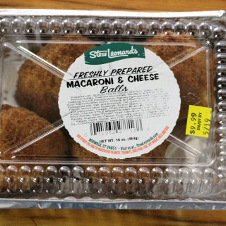 Stew Leonards Mac and Cheese Balls