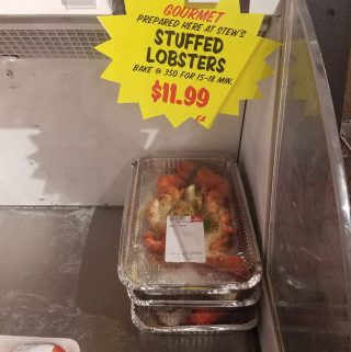 Stew Leonard's Stuffed Lobster