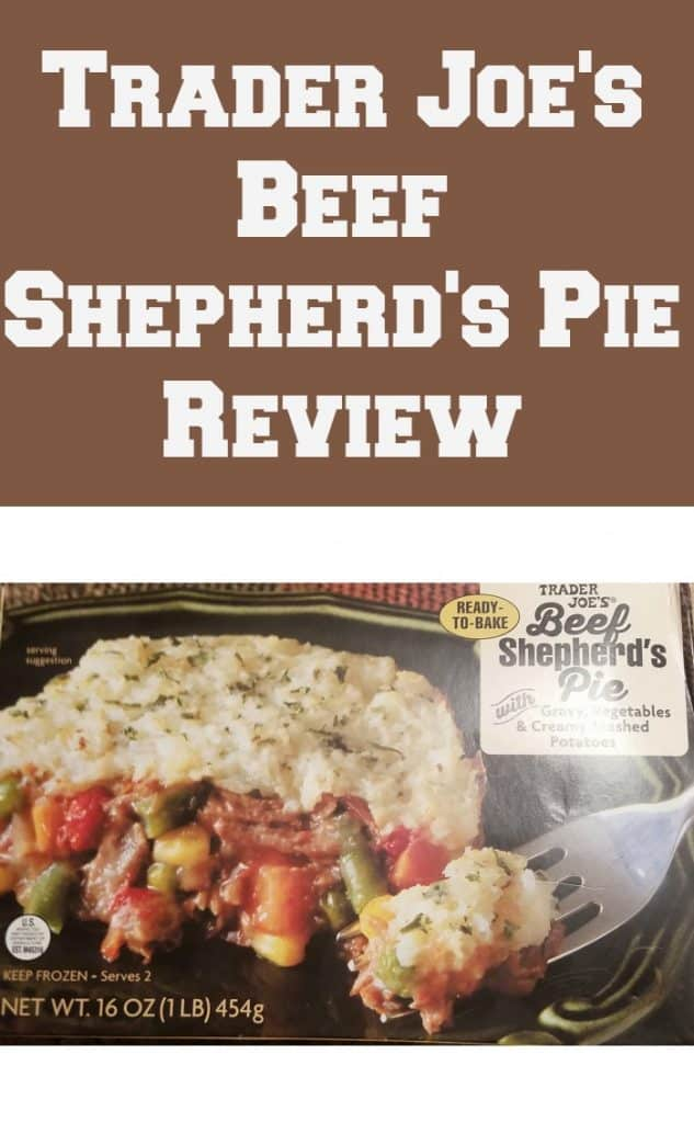 Trader Joe's Beef Shepherd's Pie. Want to know if this is something worth buying from Trader Joe's? All pins link to BecomeBetty.com where you can find reviews, pictures, thoughts, calorie counts, nutritional information, how to prepare, allergy information, and how to prepare each product.