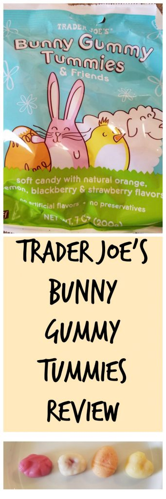 Trader Joe's Bunny Gummy Tummies Review. Want to know if this is something worth buying from Trader Joe's? All pins link to BecomeBetty.com where you can find reviews, pictures, thoughts, calorie counts, nutritional information, how to prepare, allergy information, and how to prepare each product.