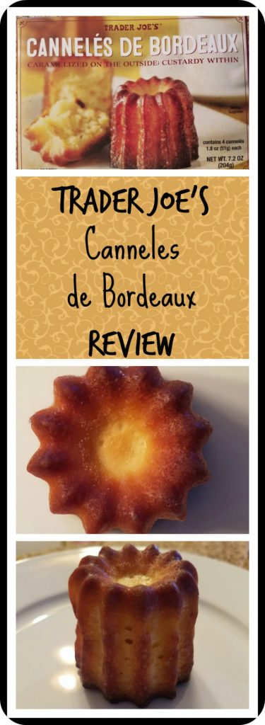 Trader Joe's Canneles de Bordeaux Review. Want to know if this is something worth buying from Trader Joe's? All pins link to BecomeBetty.com where you can find reviews, pictures, thoughts, calorie counts, nutritional information, how to prepare, allergy information, and how to prepare each product.