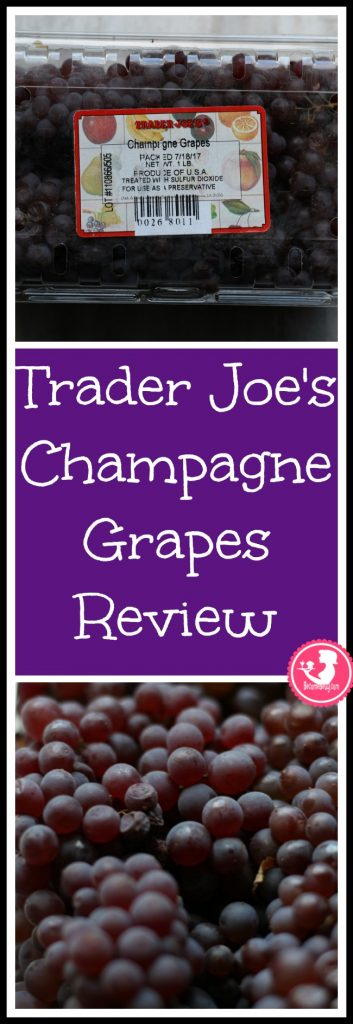 Trader Joe's Champagne Grapes review. Want to know if this is something worth putting on your shopping list from Trader Joe's? All pins link to BecomeBetty.com where you can find reviews, pictures, thoughts, calorie counts, nutritional information, how to prepare, allergy information, price, and how to prepare each product.