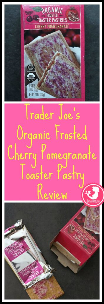 Trader Joe's Organic Frosted Cherry Pomegranate Toaster Pastries review. Want to know if this is something worth putting on your shopping list from Trader Joe's? All pins link to BecomeBetty.com where you can find reviews, pictures, thoughts, calorie counts, nutritional information, how to prepare, allergy information, price, and how to prepare each product.