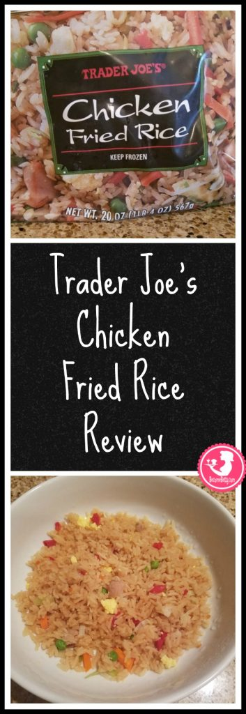 Trader Joe's Chicken Fried Rice review. Want to know if this is something worth putting on your shopping list from Trader Joe's? All pins link to BecomeBetty.com where you can find reviews, pictures, thoughts, calorie counts, nutritional information, how to prepare, allergy information, price, and how to prepare each product.