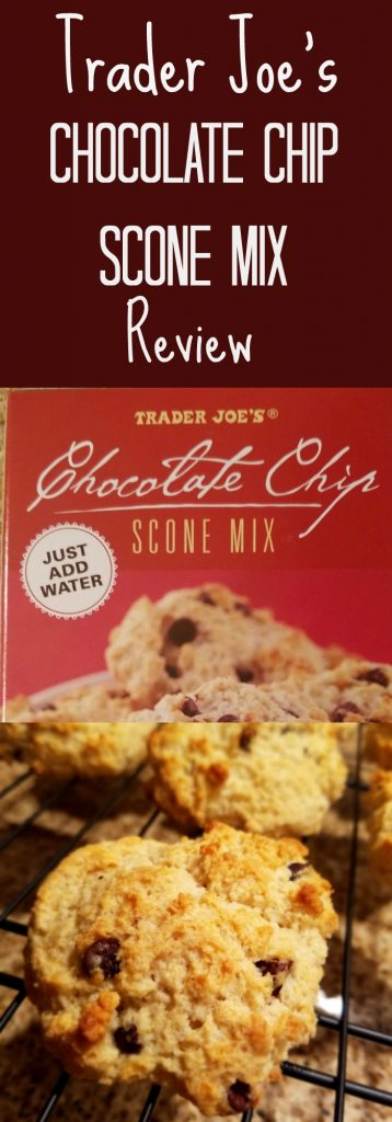 Trader Joe's Chocolate Chip Scone Review.  Want to know if this is something worth buying from Trader Joe's? All pins link to BecomeBetty.com where you can find reviews, pictures, thoughts, calorie counts, nutritional information, how to prepare, allergy information, and how to prepare each product.