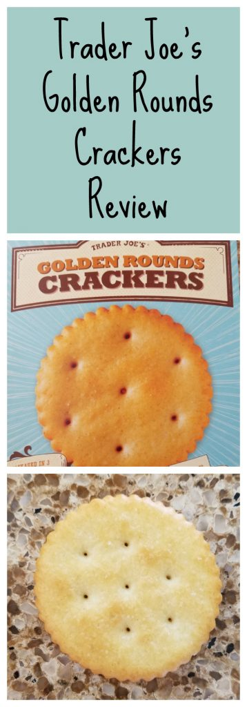 Trader Joes Golden Rounds Crackers Review. Want to know if this is something worth buying from Trader Joe's? All pins link to BecomeBetty.com where you can find reviews, pictures, thoughts, calorie counts, nutritional information, how to prepare, allergy information, and how to prepare each product.