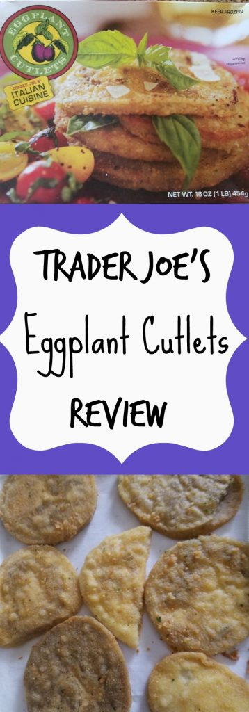 Trader Joes Eggplant Cutlet Review. Want to know if this is something worth buying from Trader Joe's? All pins link to BecomeBetty.com where you can find reviews, pictures, thoughts, calorie counts, nutritional information, how to prepare, allergy information, and how to prepare each product.