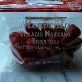 Trader Joe's Heavenly Villagio Marzano Tomatoes