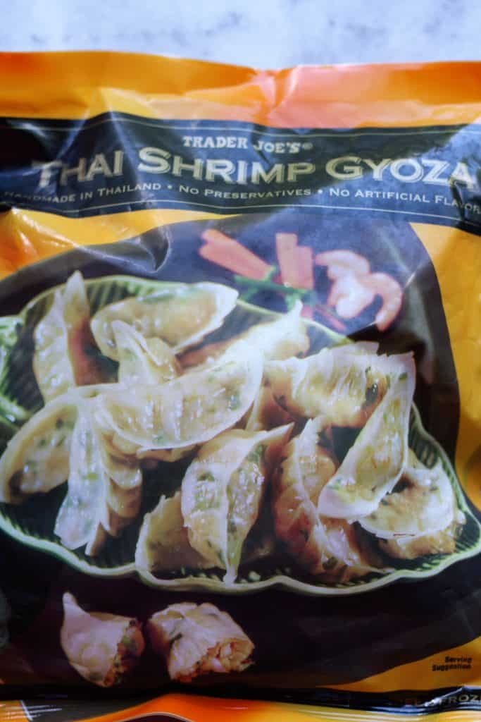 Trader Joe's Thai Shrimp and Vegetable Gyoza