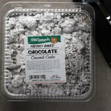 Stew Leonard's Chocolate Crumb Cake