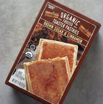 Trader Joe's Organic Frosted Brown Sugar and Cinnamon Toaster Pastries
