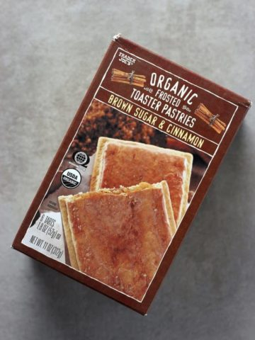 Trader Joe's Frosted Brown Sugar and Cinnamon Toaster Pastries