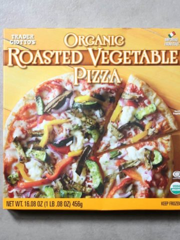 Trader Joe's Organic Roasted Vegetable Pizza