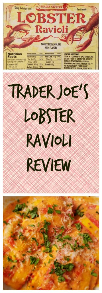 Trader Joes Lobster Ravioli Review. Want to know if this is something worth buying from Trader Joe's? All pins link to BecomeBetty.com where you can find reviews, pictures, thoughts, calorie counts, nutritional information, how to prepare, allergy information, and how to prepare each product.